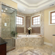 mediterranean bathroom by LA Design Build