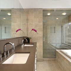 contemporary bathroom by LA Design Build