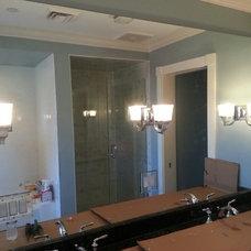 Bathroom by Clear Choice Glass & Window Systems, Inc.