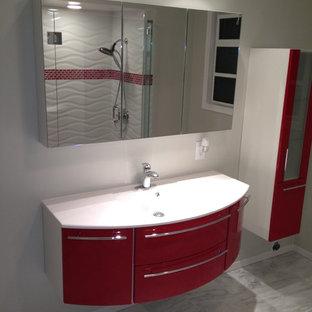 Curved Bathroom Vanity Houzz