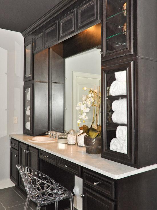 custom bathroom vanity | houzz