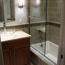 Eclectic Bathroom by 360 Degrees
