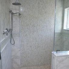 Traditional Bathroom by NJ Coastal Builder