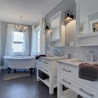 Salle de bain romantique Edmonton : Photos et idées déco de salles ...