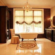 Traditional Bathroom by Lumar Interiors