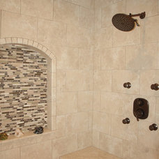Eclectic Bathroom by Otero Signature Homes