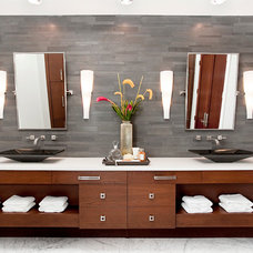 Contemporary Bathroom by Greg Riegler Photography