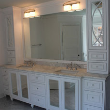 Traditional Bathroom by European Woodcraft
