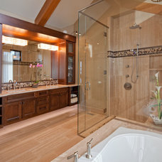 Traditional Bathroom by Mid Island Cabinets