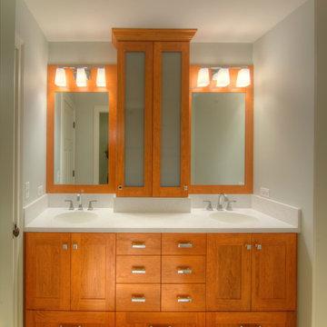 Custom Cabinets- Bathroom Gallery