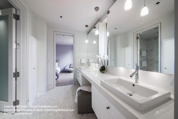 Contemporary Bathroom by Design First Interiors