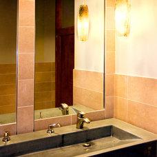 Contemporary Bathroom by Satory Interior Design