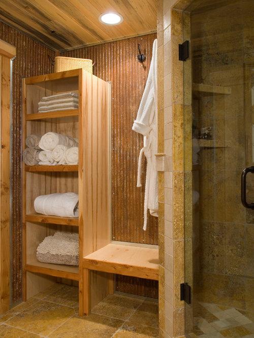 Yurt bathroom houzz for Yurt bathroom designs
