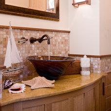 Traditional Bathroom by Dorothy Howard AIA, Architect
