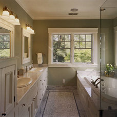 Craftsman Bathroom by JCA ARCHITECTS