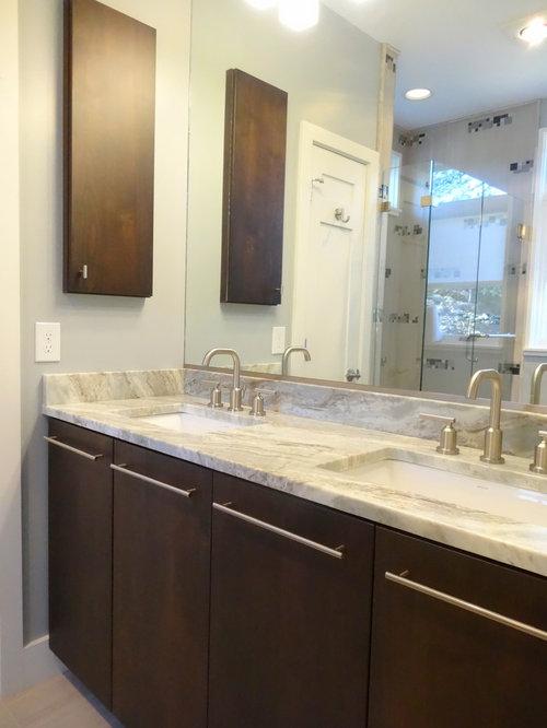 Mocha bathroom cabinets home design ideas pictures for Mocha bathroom ideas
