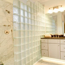 contemporary bathroom by Stuart M. Jones Custom Homes, Inc.