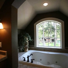 Traditional Bathroom by DreamBuilder Custom Homes