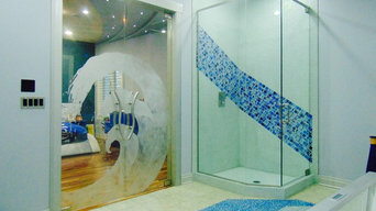 Custom Etched Glass Art - Chicago