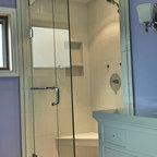 Caulked Baseboard joints - Modern - Bathroom - Vancouver - by 3D-Tile-Design - Bertram Tasch