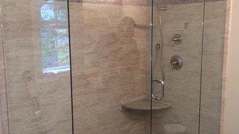 Custom Glass Shower Enclosures