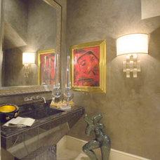 Contemporary Bathroom by The Granite Shop