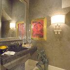 Modern Marble Bathroom Contemporary Bathroom