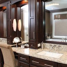 Contemporary Bathroom by Sawlor Built Homes