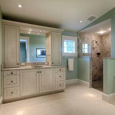 Beach Style Bathroom by Rokela Development, Inc.