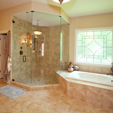 Traditional Bathroom by Robert Lucke Homes