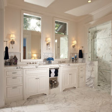 Traditional Bathroom by Timeline Design