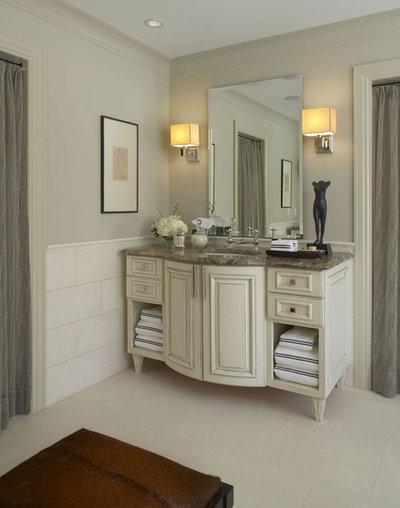 American Traditional Bathroom by CBI Design Professionals, Inc.