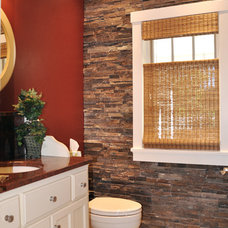 Traditional Bathroom by Van's Lumber & Custom Builders, Inc.