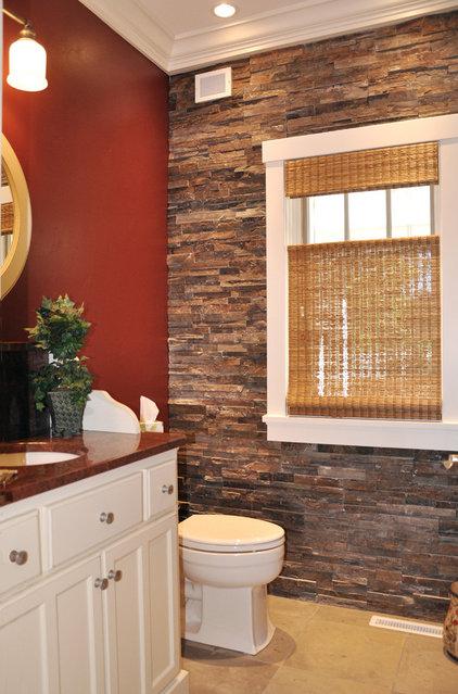 Traditional Bathroom by Van's Lumber & Custom Builders, Inc.