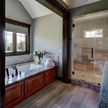 Custom Home in Glen Ellyn Bathroom