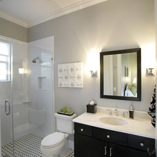 Contemporary Bathroom by Devonshire Custom Homes