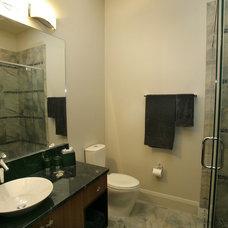 Modern Bathroom by Devonshire Custom Homes