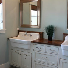 Craftsman Bathroom by Jake Hulet Construction