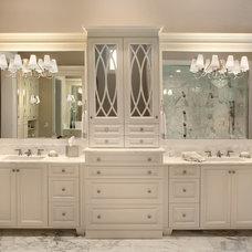Traditional Bathroom by Osprey Custom Homes