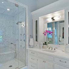 Transitional Bathroom by Newgard Custom Homes