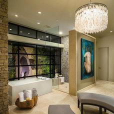 Contemporary Bathroom by Blackbird Interiors