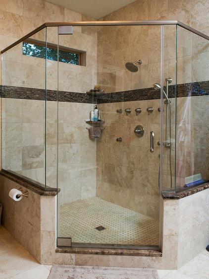 Contemporary Bathroom by Metzler Home Builders