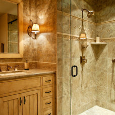 Traditional Bathroom by Carpenter Construction, Inc.