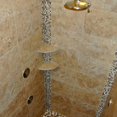 Traditional Bathroom by King's Court Builders, Inc.
