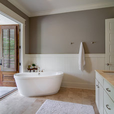 Traditional Bathroom by William Johnson Architect