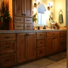 Traditional Bathroom by Kirk Alan Wood & Design LLC