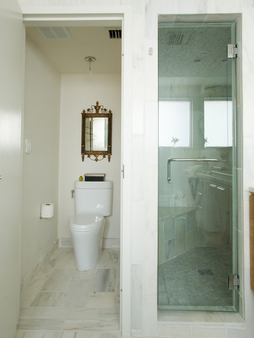 Separate toilet houzz Bathroom designs with separate tub and shower