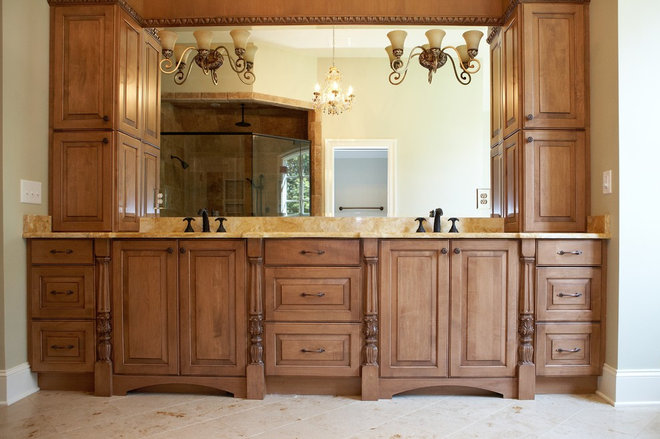 Traditional Bathroom by Artistic Kitchens & Baths, CKD, CAPS, NKBA, ASID