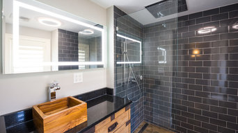 Custom Master Bath in Savin Hill