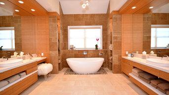 Custom Master Bathroom - Bamboo